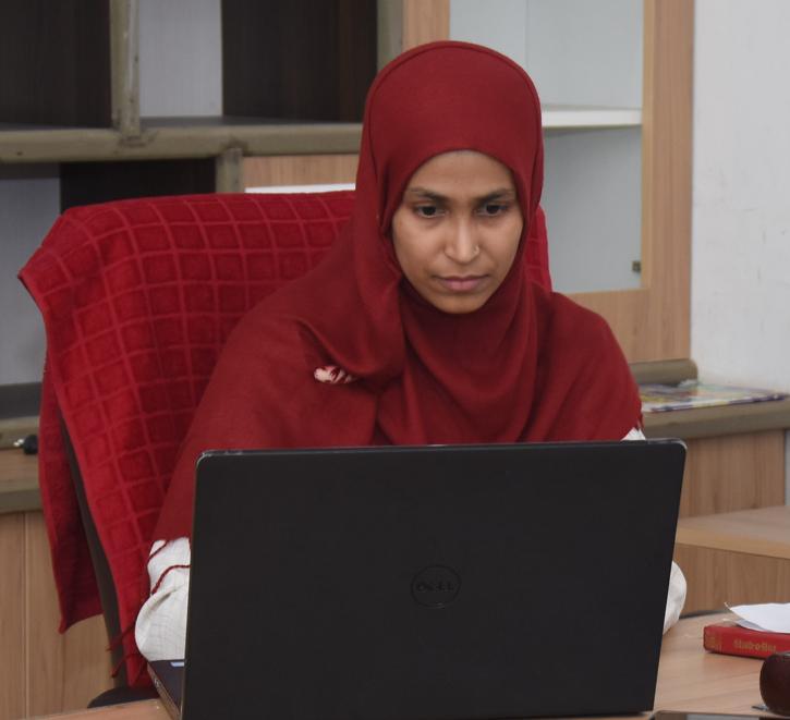 GGIS Principal Ms. Nida Sahar